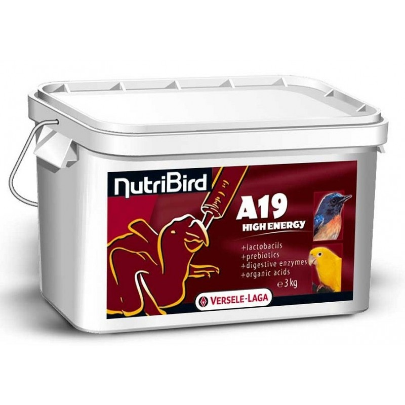 Nutribird A19 High energy - 3kg